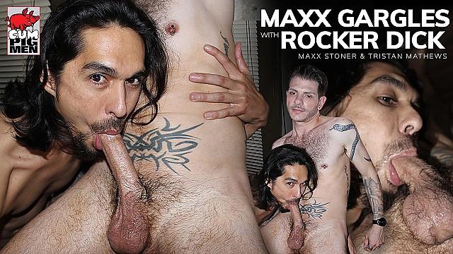 Maxx Gargles With Rocker Dick