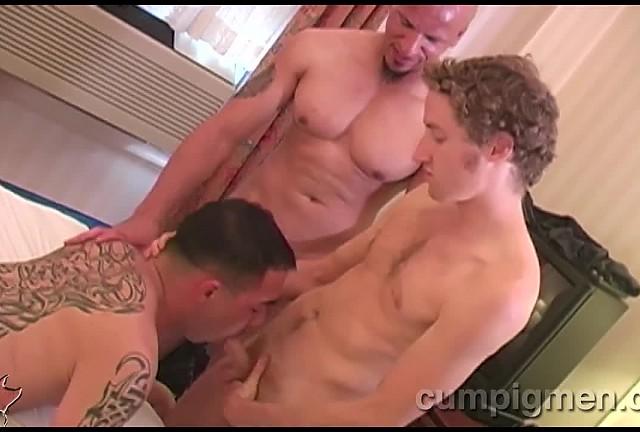 Damien Rod, Reid Mason, and Rico
