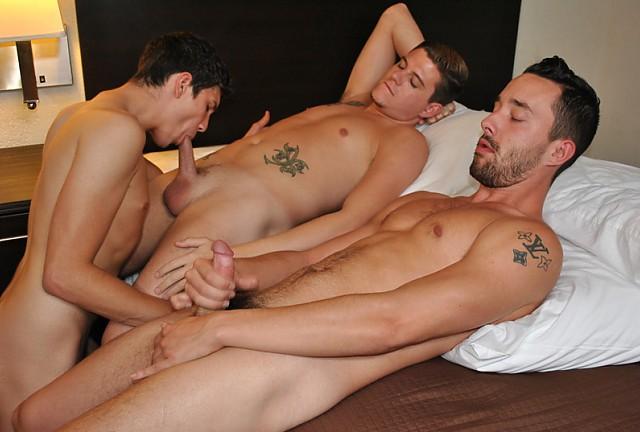 Drake Stone, Austyn Onyx and Isaac Hardy